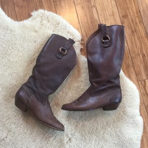 Vintage Dexter Tall Western Boots